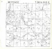 Fence T38N-R15E, Florence County 1964